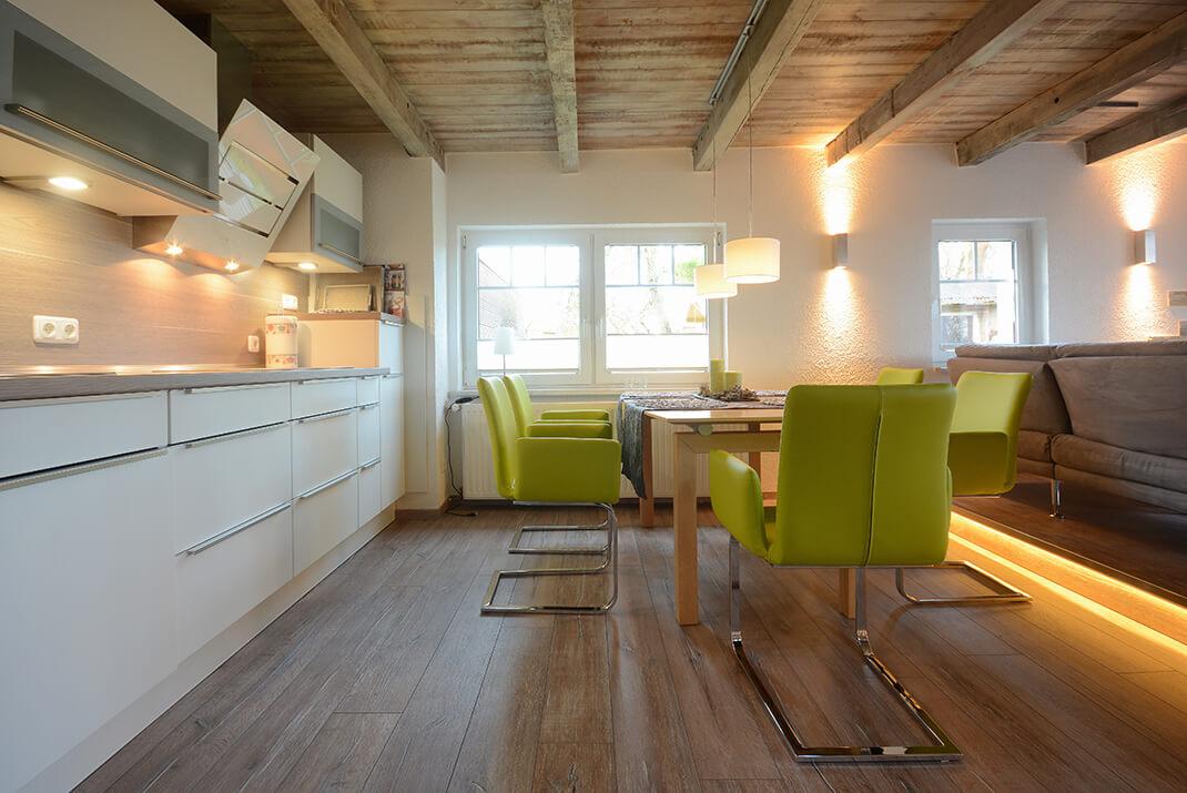 Meerflair - Küchenbereich