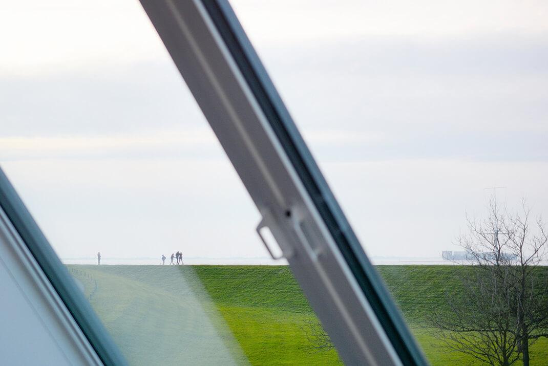 Meerblick - Panoramazimmer Ausblick