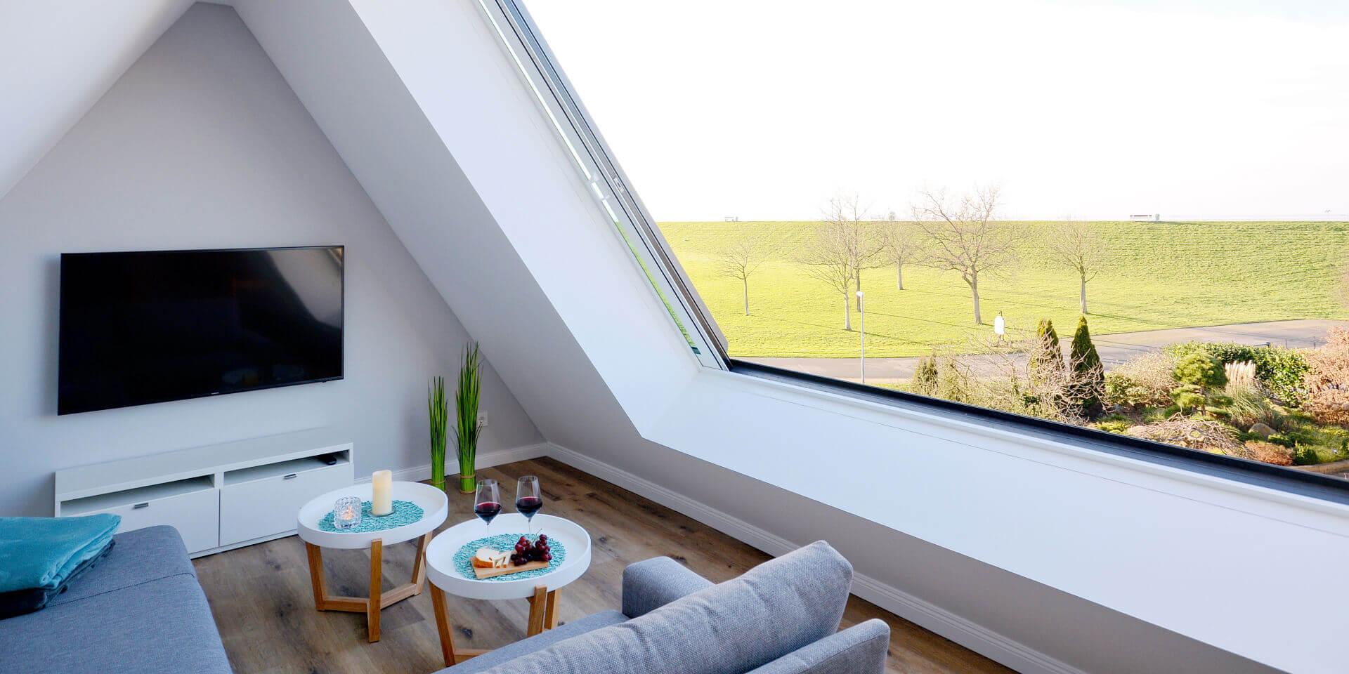 Meerblick - Panoramazimmer