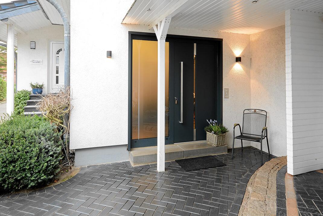Deichloft - Eingang