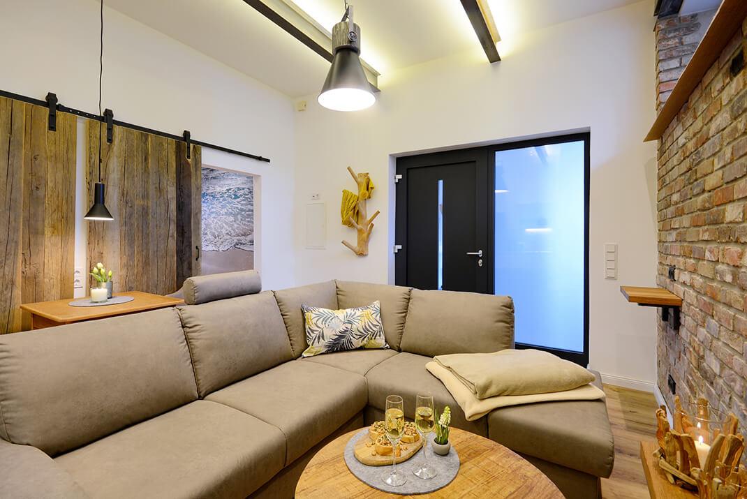 Deichloft - Wohnzimmer