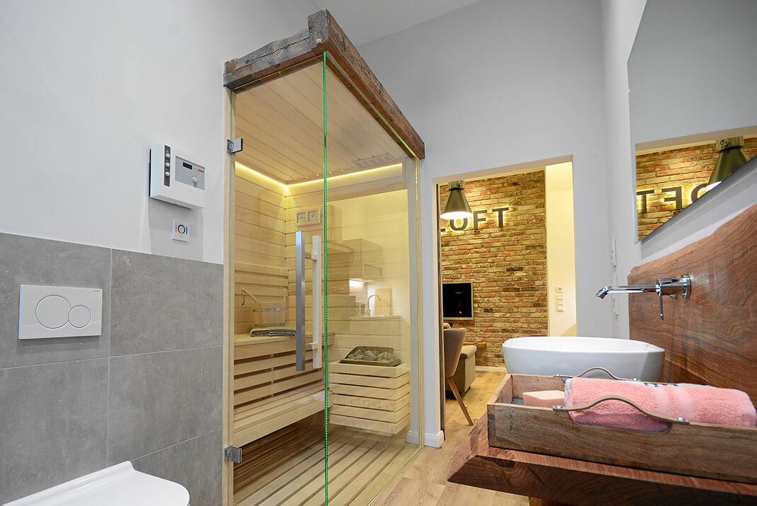 Deichtloft - Sauna